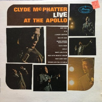 Clyde McPhatter Live at the Apollo - Clyde McPhatter